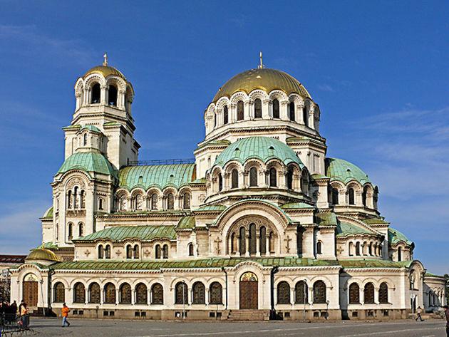 Catedrala-Sf--Alexander-Nevsky--Sofia
