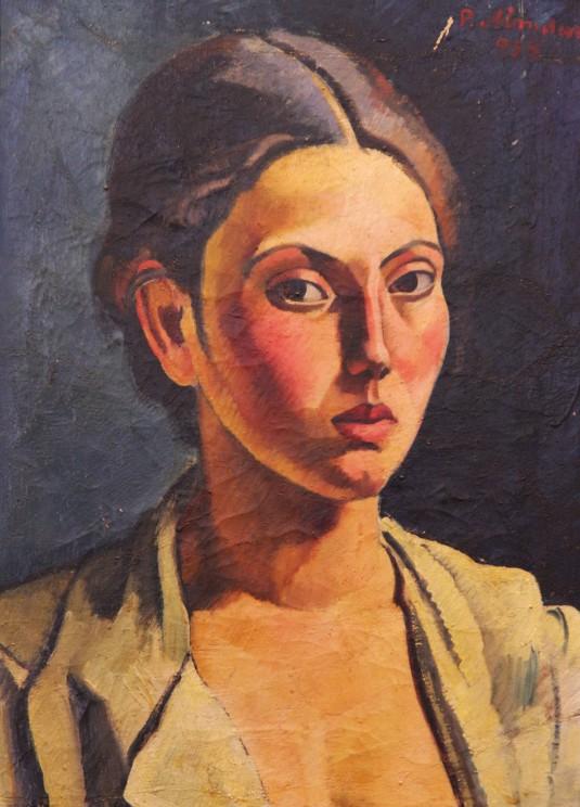 Petre-Abrudan-Portret-de-tanara-fata