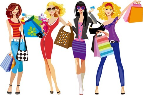 shopping-girls-vector-illustration-75161